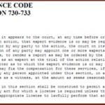 EVIDENCE CODE 730 EVALUATION: THE CUSTODY EVALUATION